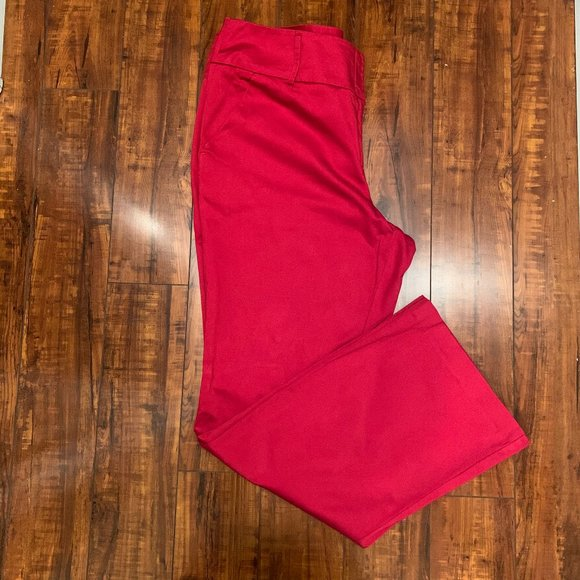 New York & Company Pants - 🦋 New York & Company Red Trousers